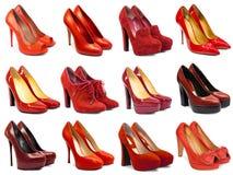 Женская обувь collection-5 Стоковое Изображение RF