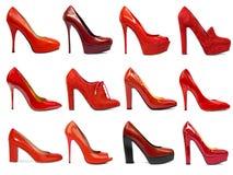 Женская обувь collection-2 Стоковое Изображение RF