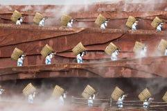 женская провинция работая yunnan Стоковое Изображение