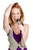 женская рок-звезда Стоковые Изображения RF