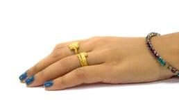 Женская рука Стоковые Фотографии RF