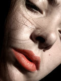 женская собственная личность портрета Стоковое фото RF