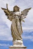 Женская статуя ангела Стоковое Изображение RF