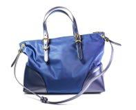 Женская сумка изолированная на белой предпосылке Стоковое Изображение