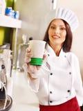 Женская форма шеф-повара. стоковое фото