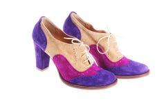женские ботинки Стоковые Изображения
