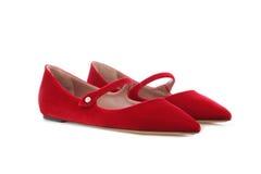 Женские ботинки Стоковые Фотографии RF