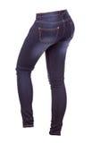 Женские брюки джинсов стоковое изображение rf