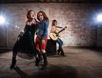 женские музыканты Стоковые Фото