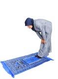 женские мусульманские славные моля детеныши Стоковая Фотография