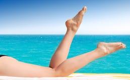 женские ноги сексуальные Стоковое Изображение