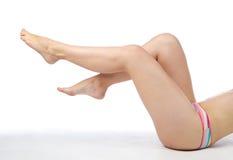 женские ноги стоковая фотография