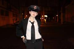 женские полиции офицера Стоковые Фотографии RF