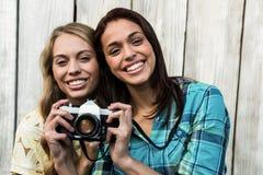женские друзья ся 2 Стоковые Фотографии RF
