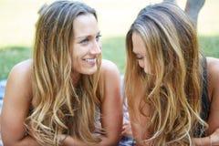 женские друзья 2 Стоковое Изображение