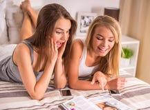 Женские друзья Стоковая Фотография