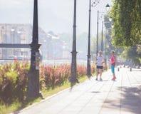 Женские друзья jogging Стоковые Фото