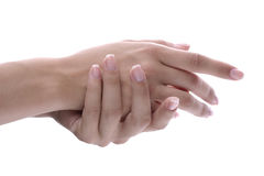 женские руки Стоковая Фотография