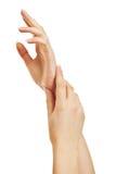 женские руки Стоковые Изображения RF