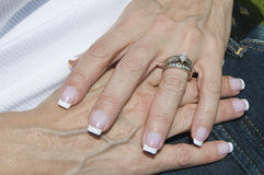 женские руки Стоковое фото RF