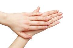 Женские руки Стоковое Изображение RF