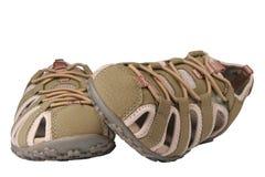 женские спорты сандалий стоковые фото