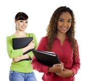 женские студенты Стоковые Фотографии RF