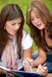 женские студенты Стоковое Изображение