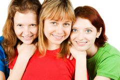 женские друзья Стоковое Изображение RF