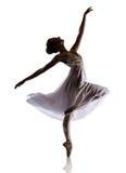 Женский артист балета Стоковое Фото