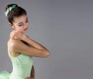 Женский артист балета Стоковое Изображение RF
