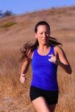 женский бегунок Стоковые Изображения