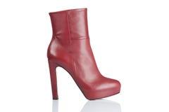 Женский ботинок высокой пятки Стоковая Фотография RF