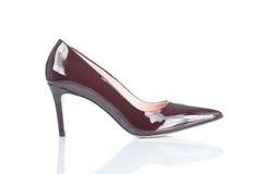 Женский ботинок высокой пятки Стоковая Фотография