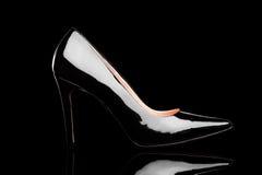 Женский ботинок высокой пятки Стоковое Фото