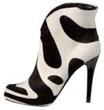Женский ботинок с высокой пяткой Стоковые Фотографии RF
