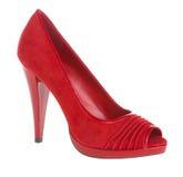 женский ботинок Стоковые Изображения