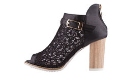 Женский ботинок Стоковые Изображения RF