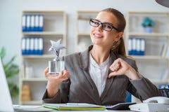 Женский бухгалтер босса коммерсантки работая в офисе Стоковое Фото