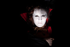 женский вампир портрета стоковое фото