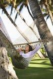 женский гамак Стоковая Фотография RF