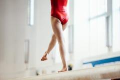 Женский гимнаст Стоковое Фото