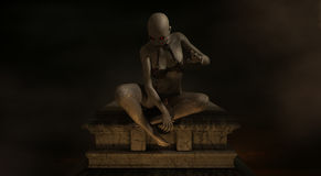Женский демон Стоковое фото RF