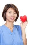 Женский кардиолог стоковое изображение rf