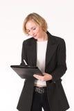 женский контролер Стоковые Фотографии RF