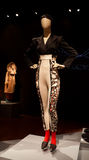 Женский манекен одетьнный в гетры Стоковая Фотография