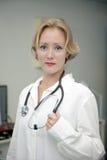 женский медицинский профессионал Стоковая Фотография RF