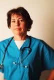 женский медицинский профессионал стоковое изображение rf