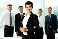 женский менеджер Стоковое Фото