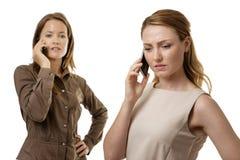 женский мужчина моделирует одно снял совместно 2 работая Стоковые Фотографии RF